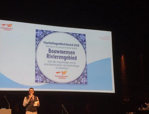 Bouwmensen Rivierengebied krijgt VluchtelingenAward 2016