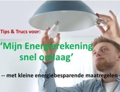 Energiereductie door woningeigenaren